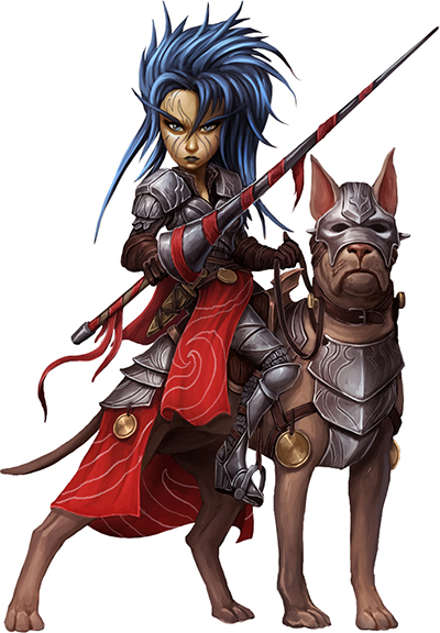 Female Gnome: The College Of Legendary Steeds: A Bard Guide By StarStuff